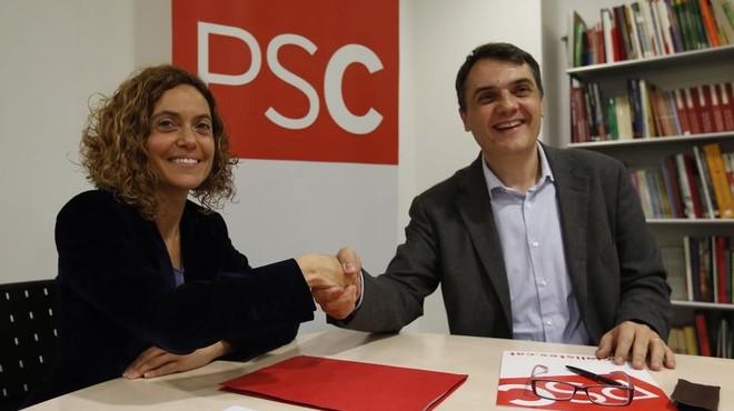 Martí es retira de les primàries del PSC i Batet serà la candidata