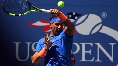 Nadal i Muguruza debuten amb victòria a l'Open dels EUA