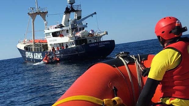 Un vaixell de Proactiva Open Arms, bloquejat des de fa més de 48 hores