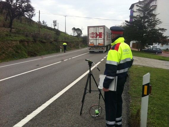 Nuevo accidente mortal en la N-2 de Girona con un cami�n implicado