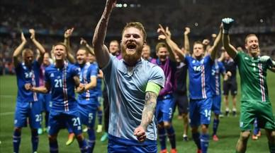 Islàndia dóna el cop i fa fora Anglaterra