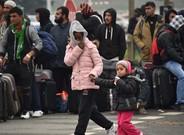 Menores en la 'jungla' de Calais.