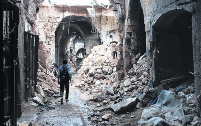 Siria, una triste ruina de lo que fue