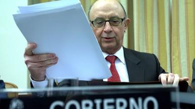 Comparecencia del ministro Montoro ante la Comisión de Hacienda y Función Pública, el 25 de enero.