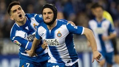 L'Espanyol doblega el Las Palmas en un entretingut partit