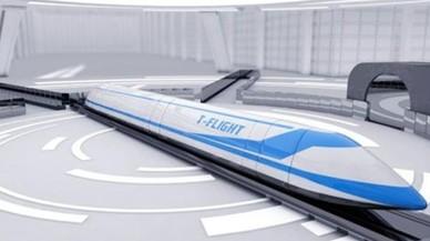 China apuesta por un 'tren volador' que vaya a 4.000 kilómetros por hora