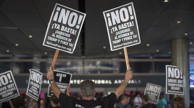 El veto migratorio de Trump entra en vigor de forma parcial