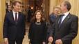 """La vicepresidenta reclama """"transparència"""" a C's si decideix recolzar la investidura de Díaz"""
