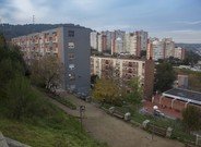 Vista panorámica del barrio de Ciutat Meridiana, en una imagen de archivo.