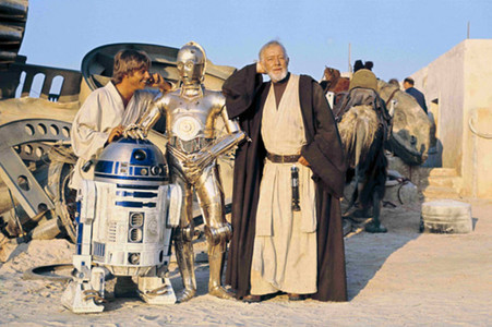 Una imatge de 'La guerra de les galàxies'