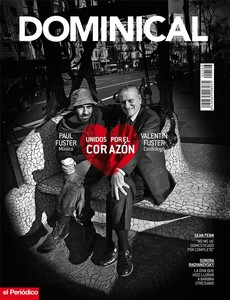 Los Fuster, padre e hijo, en la portada de 'Dominical'.
