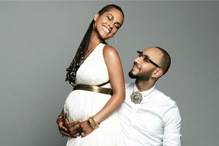 Alicia Keys y su esposo, Swizz Beatz.