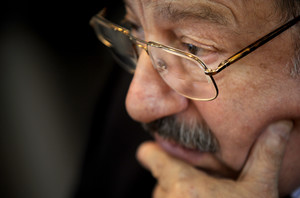Umberto Eco, en una imatge de maig del 2015