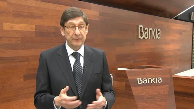 Bankia va obtenir un benefici net atribuït de 804 milions deuros el 2016