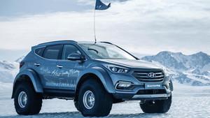 El Hyundai Santa Fe, el vehículo de la gesta.