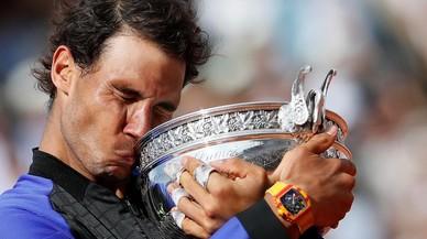 Nadal va guanyar Roland Garros amb un rellotge de 800.000 euros al canell