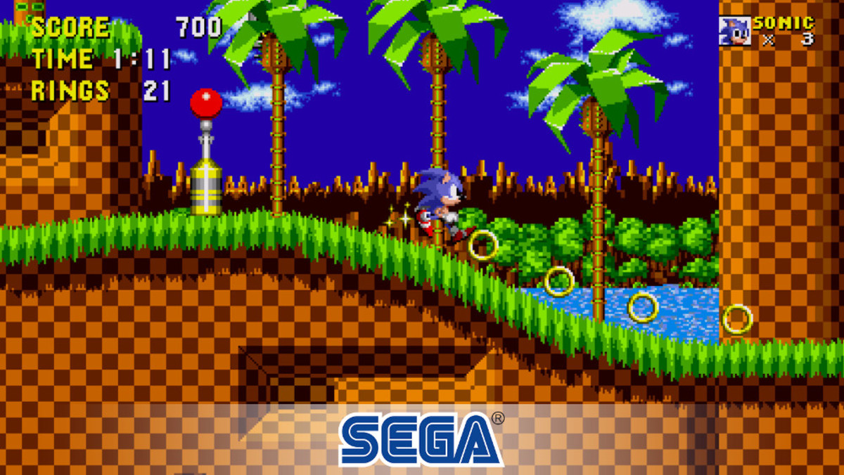 Sonic the Hedgehog.