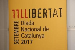 Cartel de la Diada 2017.