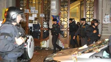 La Guàrdia Civil atribueix el delicte de sedició als detinguts
