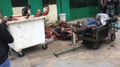 Almenys 60 morts en un violent motí en una presó del Brasil
