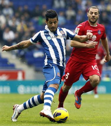 El Getafe desquicia al Espanyol y acentúa su crisis deportiva (0-2)