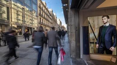 La mayoría de las tiendas de Barcelona no abrirán el 1-O