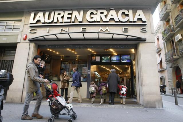 El cine lauren gr cia cierra definitivamente for Entradas cine barcelona