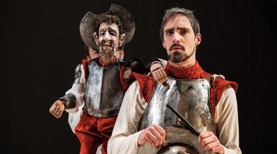 Don Quixot cavalca a l'Almeria Teatre