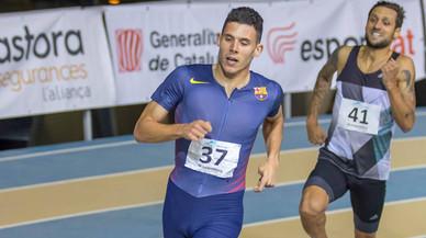 El corredor de Gavà Marc Alcalá guanya el Míting de Sabadell