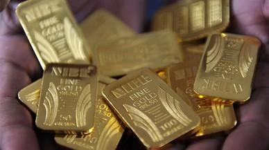 Els inversors es refugien en l'or i pressionen el seu valor a l'alça
