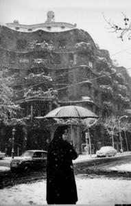 Cuando nev� de verdad en Barcelona
