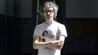 El pianista James Rhodes, antes de la entrevista.