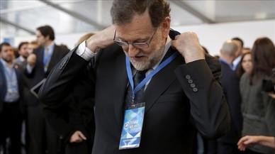 """Rajoy: """"Espero que la corrupció passi a ser part de la història dolenta del PP"""""""