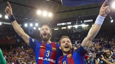 El Barça remunta davant el Kiel i entra en la 'final four' de Colònia (23-18)