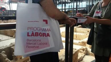 El programa Làbora tiene el objetivo de intentar capacitar profesionalmente a los usuarios y ayudar a encontrar trabajo al máximo número de personas possible.