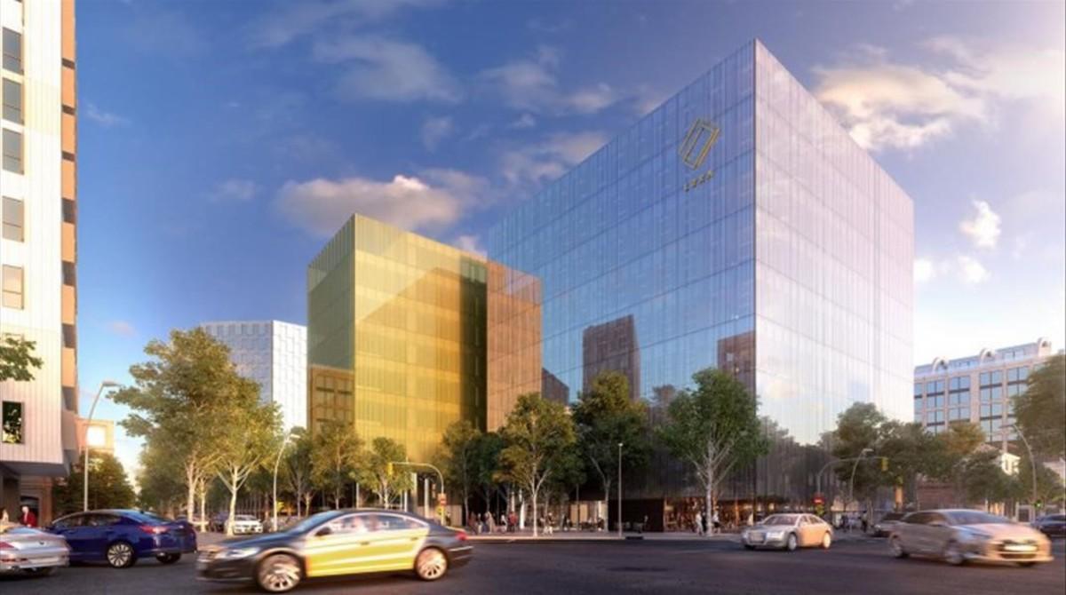 Amaz n tendr oficinas en el distrito 22 for Catalana occidente oficinas