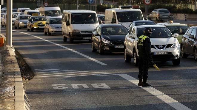 Madrid redueix una altra vegada la velocitat a la M-30 i els accessos per la contaminació