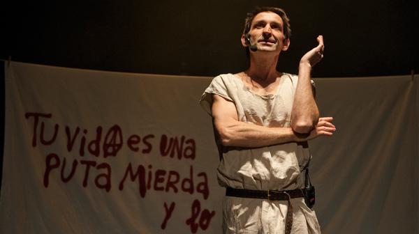 'Manifestación', nuevo espectáculo de Albert Pla