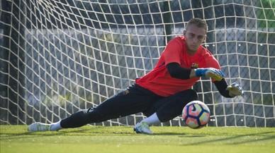 """El Barça confirma la """"petita"""" lesió muscular de Ter Stegen"""