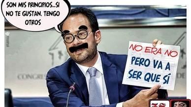 Els millors mems d'Antonio Hernando després del seu discurs al Congrés