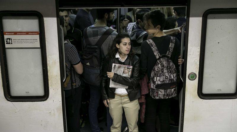 Nueva jornada de huelga de metro.