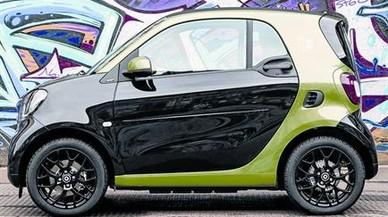 NUEVO ESTILO. Manteniendo la estética del Fortwo, Smart ha iniciado una nueva apuesta por el segmento eléctrico con detalles muy específicos.