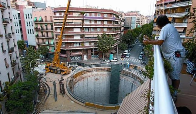 La tuneladora del AVE hace 0,5 km en un mes y llega a Independència