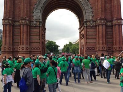 Miles de personas participan en toda España en las marchas del 15-M