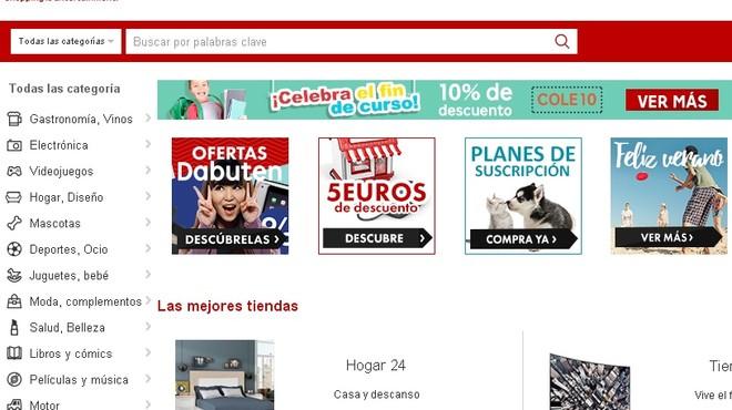 Rakuten tanca la seva botiga web a Espanya