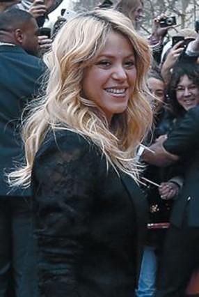 Shakira niega que De la Rúa fuera su mánager
