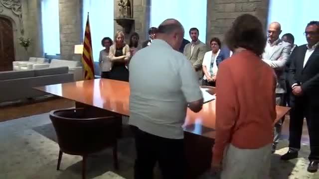 El TSJC admet la querella contra la consellera Borràs per la compra de les urnes de l'1-O