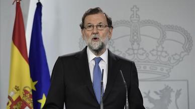 """Rajoy: """"Estic segur que els separatistes perdran suport el 21-D"""""""