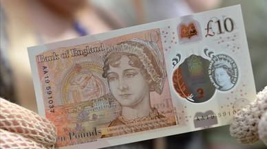 El Banco de Inglaterra presenta un billete de 10 libras con el rostro de Jane Austen