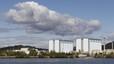 Vista general de la central nuclear de Marcoule, en Chusclan.